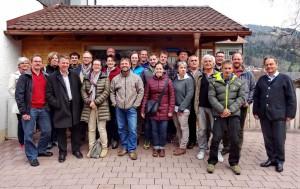 Teilnehmer Dorfentwicklungsseminar