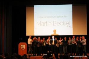 Martin Beckel und das Vorbereitungsteam der UTL und der FW