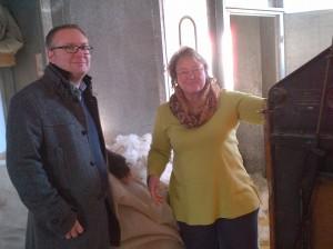 Hanni Hense und Martin Beckel
